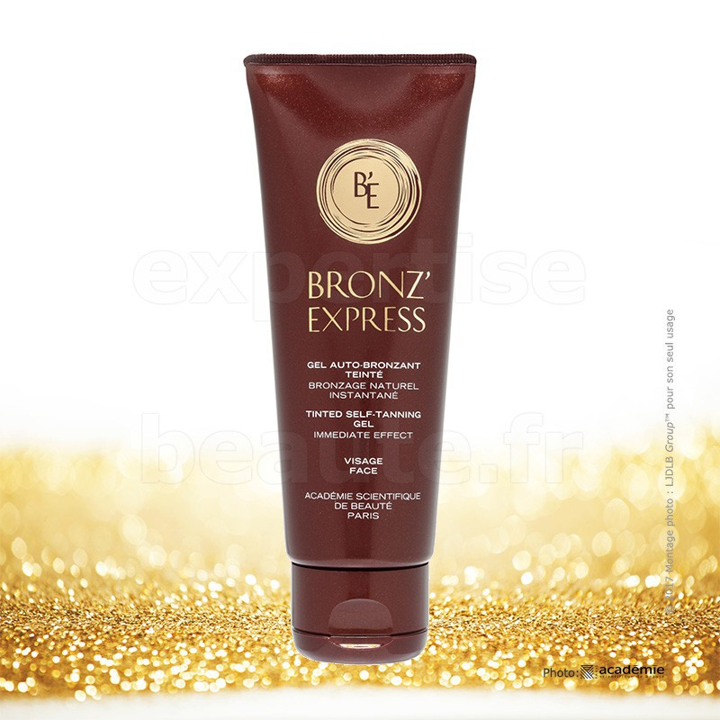 bronz 39 express gel auto bronzant teint visage 0499 acad mie tube 75ml academie scientifique. Black Bedroom Furniture Sets. Home Design Ideas
