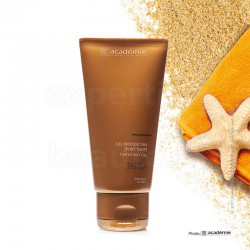 GEL BRONZÉCRAN SPORT TEINTÉ Protection faible SPF 6 ACADÉMIE - Tube 75ml