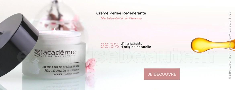 Nouveau : Crème Perlée Régénérante !