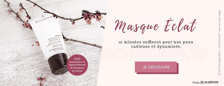 Masque Éclat : 10mn suffisent pour une peau radieuse et dynamisée